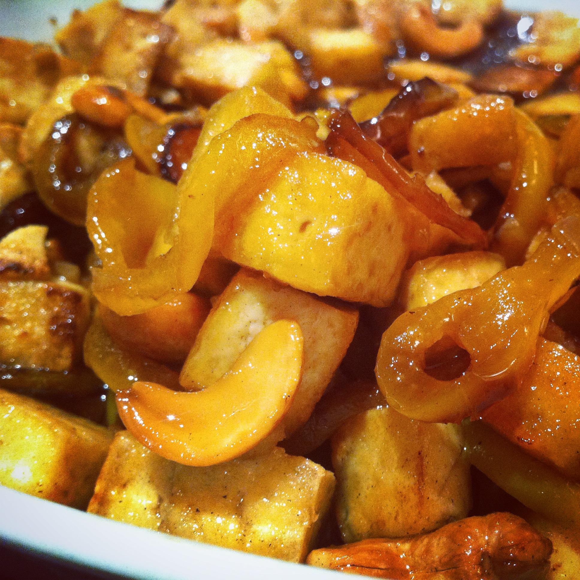 Ricetta tofu fritto con salsa piccante allo zenzero for Cucinare zenzero