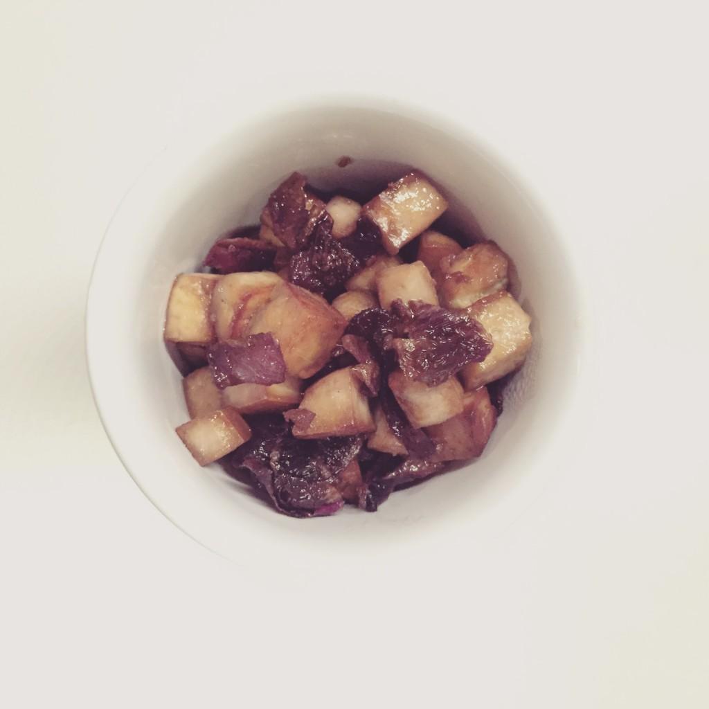 Ricetta: Tofu e cipolla rossa caramellata