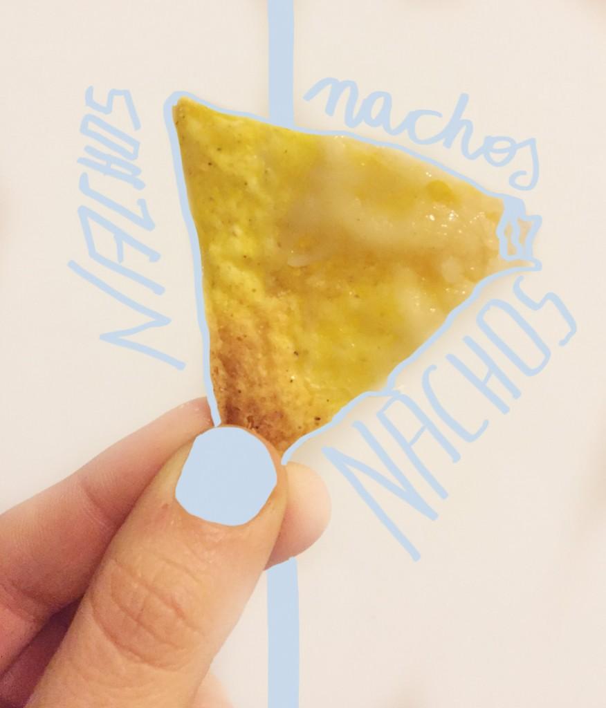 nachos con mozzarella di riso filante_ricetta veg_patatabollente