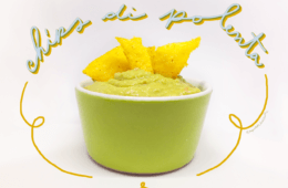 la ricetta per preparare le chips di polenta con la guacamole